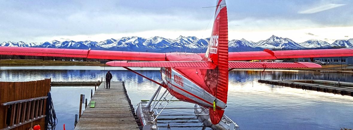 Lake Hood Float Plane, AK 2015 ©Terika Kons